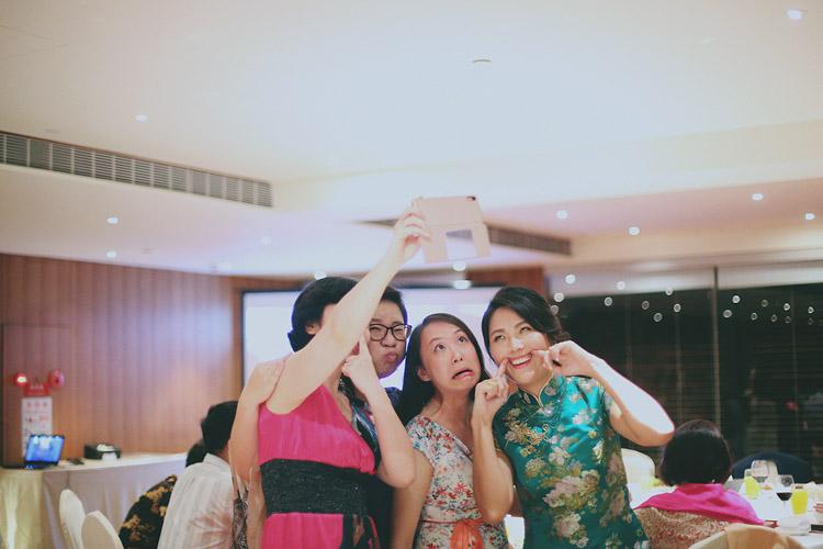 婚禮攝影-鬼臉