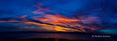 Coucher de Soleil - Sunset (MichelGurin) Tags: 2016 aot august canada clouds coucherdesoleil exterior extrieur lapocatire landscape lightoomcc maisontouristiquergionaledubassaintlaurent michelgurin nature nikcollection nikon nikon2470 nuages paysage photographie photography qc qubec sunset eau water t ca