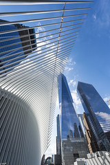 The Oculus & One World Trade (Wallace Flores) Tags: d4s nikon newyorkstate newyorkcity lowermanhattan worldtradecenter theoculus oculus oneworldtrade