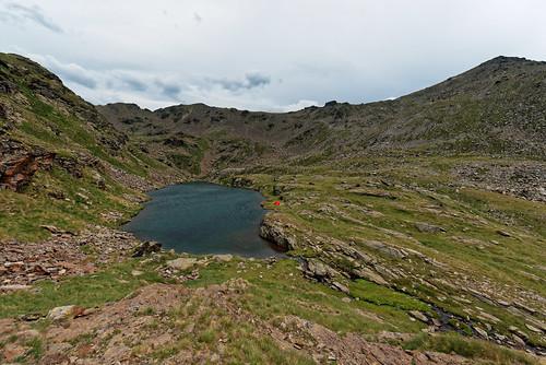 Trek Haute Ariège - jour 12 - notre zone de bivouac à côté de l'étang des Caraussans