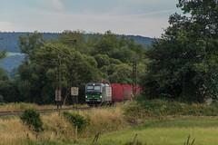 2392_2016_07_10_Haunetal_Unterhaun_ELOC_6193_ECCO_RAIL_mit_leeren_Rnoos_Bad_Hersfeld (ruhrpott.sprinter) Tags: ruhrpott sprinter deutschland germany nrw ruhrgebiet gelsenkirchen lokomotive locomotives eisenbahn railroad zug train rail reisezug passenger gter cargo freight fret diesel ellok hessen haunetal unterhaun db cancantus cfla dispo eloc mrcedispolok bb rhc railpoolrpool railservices sbbc txltxlogistik txla wlb wienerlokalbahnencargo 101 120 151 152 185 193 411 415 428 1266 es64u2 es64f4 ice r5 lokzug taurus eccorail anrufschranke outdoor logo natur graffiti