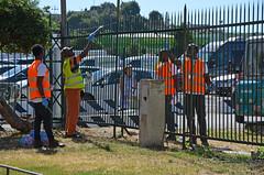 Kennedy4 (Genova citt digitale) Tags: richiedenti asilo genova piazzale kennedy agosto 2016 volontari nigeria lavoro ilva