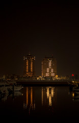 tHE pEARL- qATAR (aliffc3) Tags: thepearl qatar reflections cityscape architecture lighting waterfront nightshot handheld sonyrx100iv