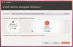 allocate disk space (eInfoDesk) Tags: how install ubuntu pc or laptop tutorial with pictures step by method
