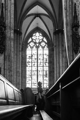 Dom Köln (photogo.pl) Tags: köln cologne dom cathedral glass light bw blackandwhite travel faith
