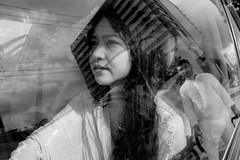 Street and Reflection (Ovhiik) Tags: reflection city urban beauty portrait portraits streetportrait street streetphotography dhakastreets streettogs bnw blackandwhite