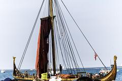 Tall ships 2016 Draken Harald Hrfagre Norway (Artemortifica) Tags: boats chicago navypeir tallships band clouds fountains garden lakemichigan sailors sails skyline summer illinois