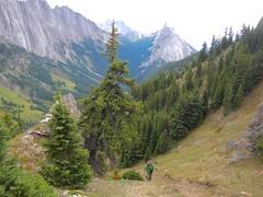 "Mt Hood Summit Scramble - Ben at ""The Gates"" (benlarhome) Tags: kananaskis alberta canada mounthood mthood scramble scrambling hike hiking path trail route rockies rockymountain mountain gipfel peak summit"
