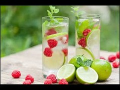 Summer Recipes-How To Prepare Raspberry And Mint Infused Water (kuntalghosh65549) Tags: summer recipeshow to prepare raspberry and mint infused water