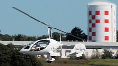 Gyro Flyer (blazer8696) Tags: 2016 ecw eastcoldenham kswf ny newwindsor newyork swf stewart stewartterrace t2016 usa unitedstates air airshow show 2012 dtasarl experimental flyer gyro gyroplane jro914 n825px rotorcraft