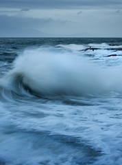 (Ian McClure) Tags: troon windy stormy ayeshire scotland pentax