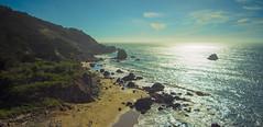 Lands End, San Francisco (Xeonyxorich) Tags: bayarea sanfrancisco beach sunset landscape ocean landsend sonya7r wideangle