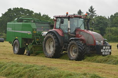 Valtra T180 Tractor with a McHale Fusion 2 Baler & Wrapper (Shane Casey CK25) Tags: valtra t180 tractor mchale fusion 2 baler wrapper agco red rathcormac silage silage16 silage2016 grass grass16 grass2016 winter feed fodder county cork ireland irish farm farmer farming agri agriculture contractor field ground soil earth cows cattle work working horse power horsepower hp pull pulling cut cutting crop lifting machine machinery nikon d7100 traktori tracteur traktor trekker trator ciągnik collecting