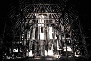 Olsen Barn Interior - Chester, CA