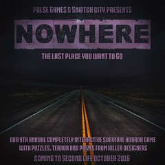 Nowhere Poster Teaser (Tess-Ivey Deschanel) Tags: pulsegames sntch snatchcity halloween horror haunted hauntedhouse games gaming game nowhere