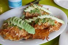 Volcanes w/Tinga (lulun & kame) Tags: newyork america newyorkcity americasfood  queens    usa  mexicanfood astoria    lumixg20f17
