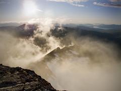 I could stay there forever (Mari Hagen) Tags: summer norway hiking tromsø g11 scrambling hamperokken