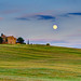 Moonrise in Tuscany