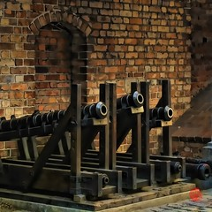 Early Cannon, Castle of Golub-Dobrzyn PL (Mark Kaletka) Tags: castle canon poland powershot cannon paintshoppro corel s45 golubdobrzyn topazclean topazadjust topazdenoise