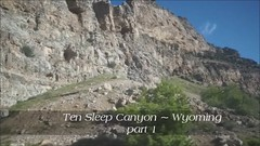 Ten Sleep Canyon live 1 (mariola aga ~ non-professional member) Tags: trip nature video ride canyon cliffs gorge wyoming videoclip slopes tensleepcanyon