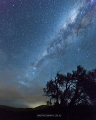 Sellicks Hill Star (James Yu Photography) Tags: sky tree star startrial
