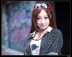 nEO_IMG_IMG_9072 (c0466art) Tags: street morning light portrait baby cute girl beautiful face female canon early eyes asia sweet outdoor quality beijing barbie east 5d taipei lovely activity  pure simen c0466art
