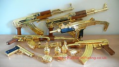 Gold Plated AK47 f (PureGoldPlating) Tags: goldplated goldplating explosivedevices goldguns goldplatedfirearms goldplatedgrenades goldexplosives goldplatedweapons