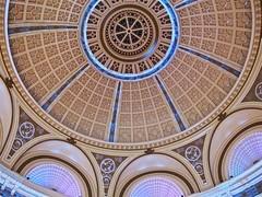 corazo under the dome three (Demetrios Lyras) Tags: windows building colors architecture mall dome soma emporium sfist corazo sanfranciscocausa