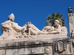 Colonies d'Asie (rgrant_97) Tags: sculpture food france station port marseille harbour provence midi stcharles vieuxport bouillabaisse colonialism