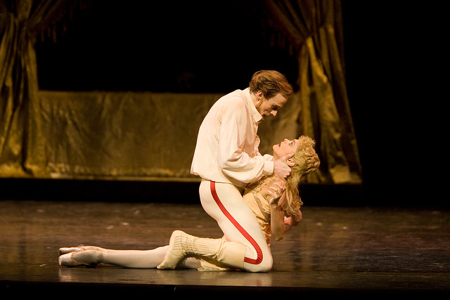 "Edward Watson as Crown Prince Rudolf and Iohna Loots as Princess Stephanie in Kenneth MacMillan's Mayerling. Royal Ballet 2009/10 season.  <a href=""http://www.roh.org.uk"" rel=""nofollow"">www.roh.org.uk</a>"