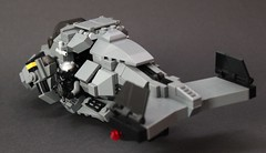DARKWATER Air Shark Mk II Backview (Andreas) Tags: shark lego gunship purge sharkair legogunship vtolvtolmilitarythe darkwaterdarkwaterdarkwater gunshipair