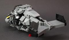 DARKWATER Air Shark Mk II Backview (✠Andreas) Tags: shark lego gunship purge sharkair legogunship vtolvtolmilitarythe darkwaterdarkwaterdarkwater gunshipair