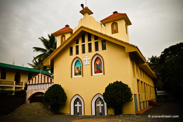Magnificent Church  in Thekkady, Kerala