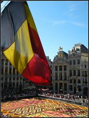 Grand' Place (Shahrazad26) Tags: brussels belgium belgique grandplace belgië bruxelles brussel grotemarkt 2012 bloementapijt tapisdefleurs