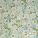 Vintage sheet - green/blue floral