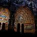 Cathédrale d Amiens : restitution des couleurs (la nuit)