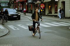 Stockholm | 4. Thai cyklist (paval hadzinski) Tags: street city trip girls light people urban woman streets art girl beauty female interesting nikon sweden stockholm places things thai sverige fille tunnelbana pavalhadzinski