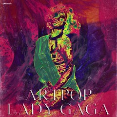 Lady GaGa - Artpop (LUKE brozic) Tags: pink green lady night way skeleton this born die purple princess album cover marry gaga 2012 artpop fanmade princessdie bornthisway ladygaga lukebrozic drincess