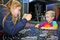 "COSI On Wheels' ""Astounding Astronomy"" Program (cosiscience) Tags: show school light columbus ohio mars sun industry museum star solar cow venus spectrum classroom mercury gamma dwarf earth space wheels vacuum radiation astronaut center science dirty system explore gravity galaxy program planet land snowball astronomy rocket spaceship pluto jupiter launch visible pressure universe comet ultraviolet neptune uranus spacecraft cosi outreach sojourner constellation pathfinder curiousity astounding"
