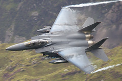 "91-0310 F15E ""Harley 81"" (PhoenixFlyer2008) Tags: wales speed standing aircraft military can panthers boeing vapour fw 48th lakenheath corris f15e strikeeagle machloop usafe 494thfs airteamcanoncouk"