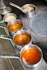 En cuisine les sauces