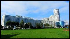 Modern side of Minsk (theredquest.com) Tags: travel tourist communist communism belarus minsk sovietunion theredquest