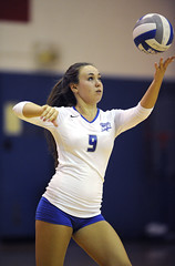 0901_S_CCSUvball_9475 (newspaper_guy Mike Orazzi) Tags: 9 volleyball d3 ccsu stjohnsuniversity newbritain collegesports 300mmf28dii collegeathletics centralconnecticutstateuniversity ccsuvolleyball