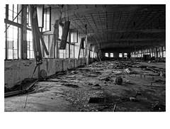 vlnena02 (misa.fasa) Tags: blackandwhite bw architecture industrial factory brno damaged hdr oldbuilding vlnena