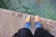 The Shoes (~ Puna) Tags: new travel blue sea cute love feet girl indonesia bride honeymoon free adventure saudi