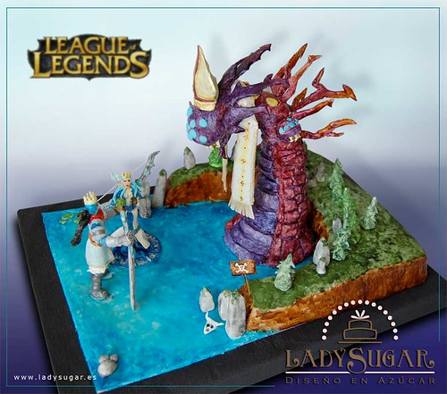 League of Legends cake