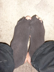 Casual socks (lasseman92) Tags: broken socks out big sock toe hole holes holy terrible worn torn cry trasig hobo hollow ragged tattered holey nya inherited nstan hl coold t strumpa straff hl luffar strumphl utslitna