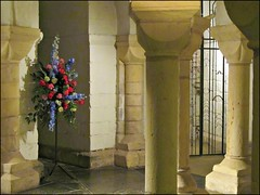 Worcester Cathedral (pefkosmad) Tags: underground columns worcestershire pillars crypt worcester worcestercathedral