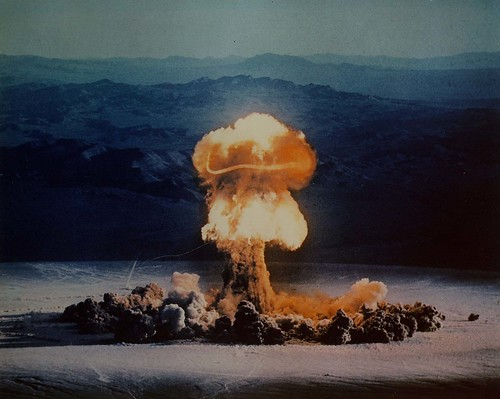 Nuclear weapons test in Nevada in 1957 by International Campaign to Abolish Nuclear Weapons , on Flickr