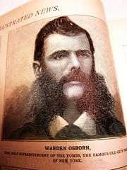 New York Illustrated News - Warden Osborn (bronxbob) Tags: newyorkcity newspapers 19thcentury illustrations sideburns thetombs dundrearies wardenosborn